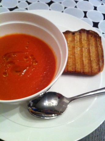 Homemade Quick Tomato Soup