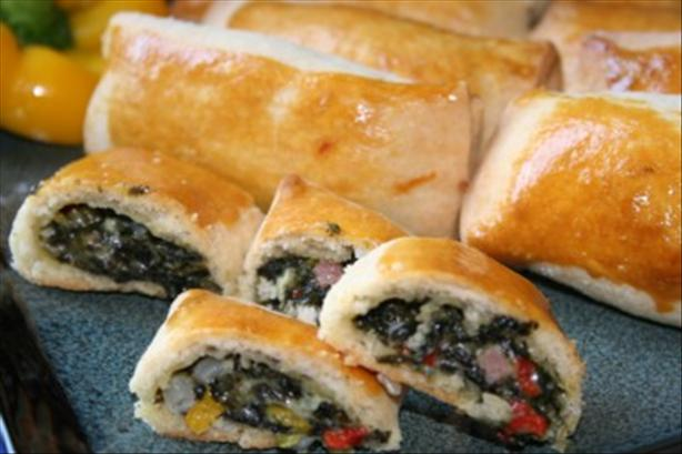 Spinach Rockefeller Roulades