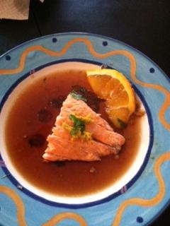 Ponzu Salmon
