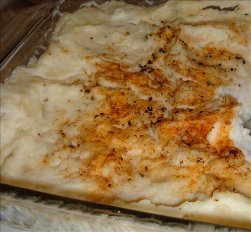 Thanksgiving Rush Mashed Potato Casserole