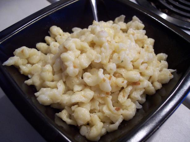 Spaetzle with Browned Butter