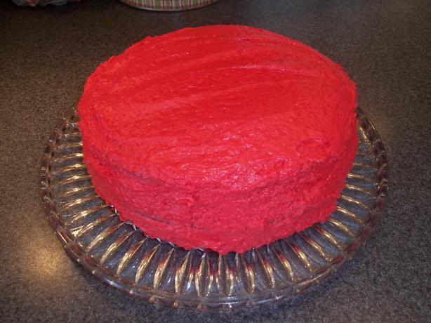 Really Red Red Velvet Cake