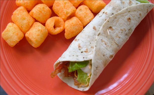 Burrito BLT Sandwiches