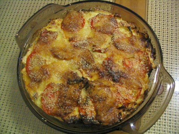 Zucchini-Feta Bake