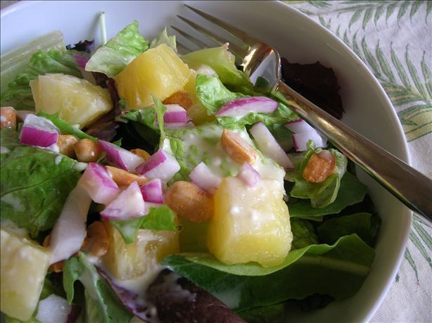 Desert Island Green Salad