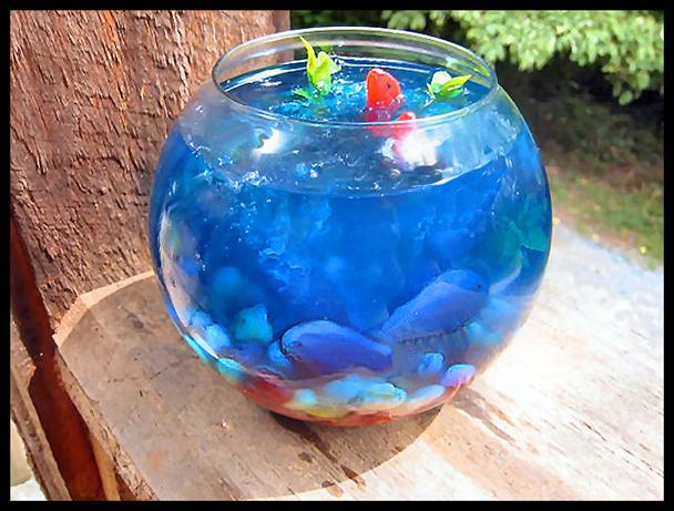 Fish Bowl Jello!