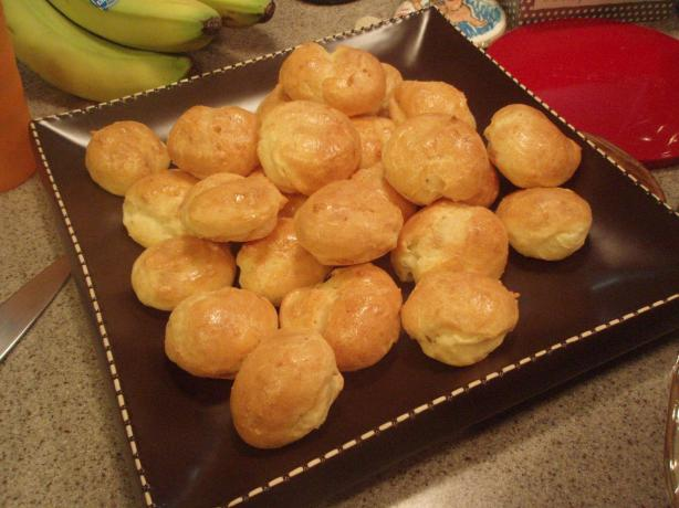 Gougeres French Cheese Puffs