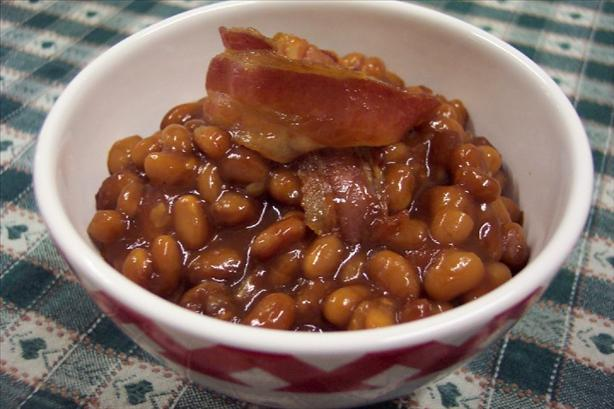 Sylvia's Easy Baked Beans