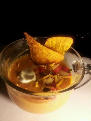Copycat Chili's Chicken Enchilada Soup