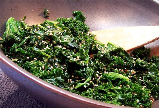 Kale and Ginger Stir Fry