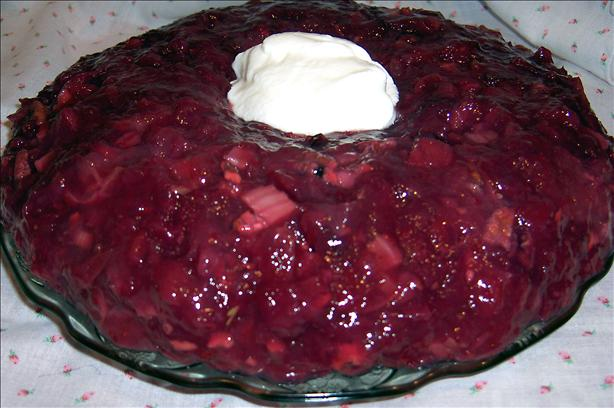 Cranberry Salad Mold