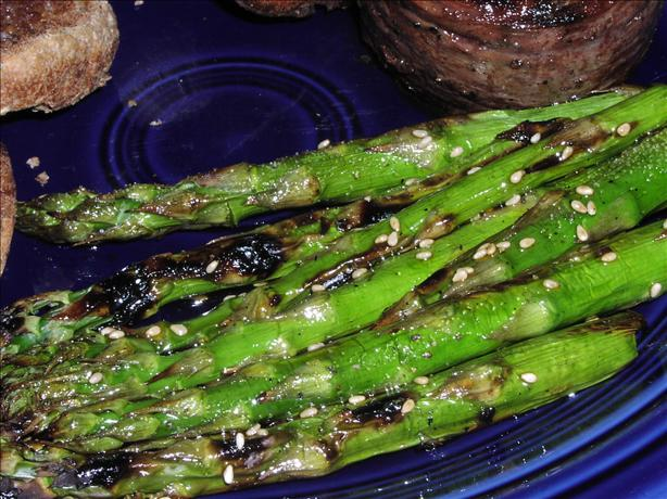 Fiery Grilled Asparagus