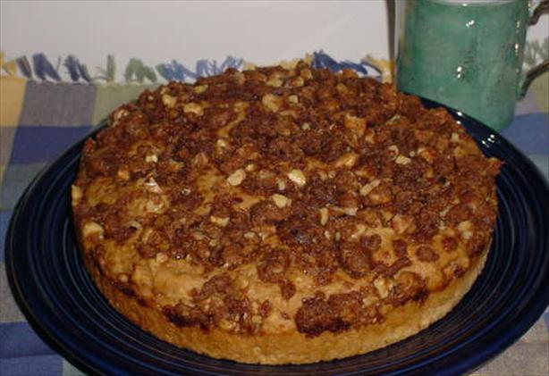 Applesauce Nut Crumb Cake