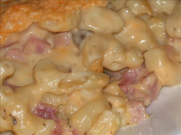 Mom's Hammy Macaroni N' Cheese