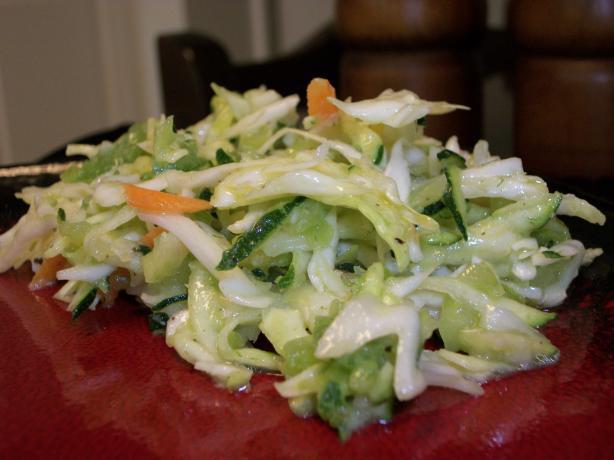 Zucchini Cole Slaw
