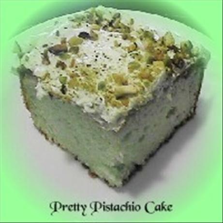 Pretty Pistachio Cake