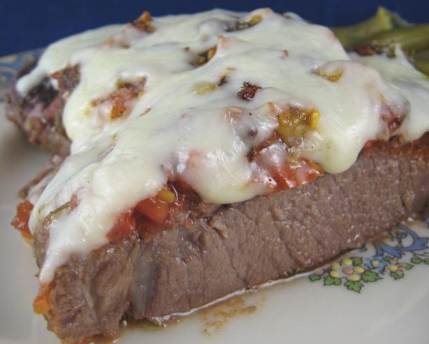 Italian Pizzaiola (Beefsteak Pizza Style)