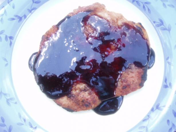 Blackberry Pork Chops
