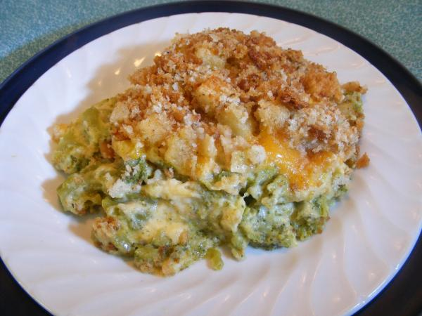 Broccoli-Dressing Casserole