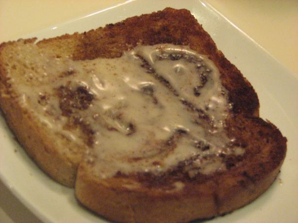 Cinnamon Roll Toast