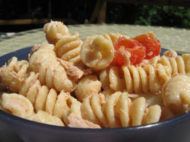 Spicy Tuna Pasta Toss - W.W. 6 points