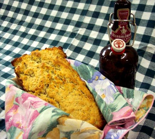Butter Crusted Beer Bread