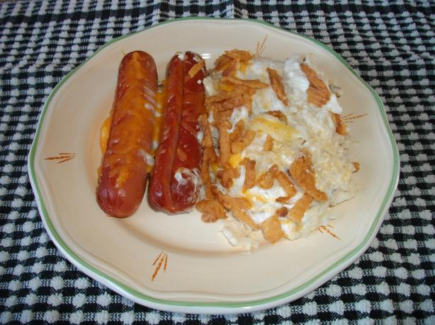 Hash Brown Taters With Dogs