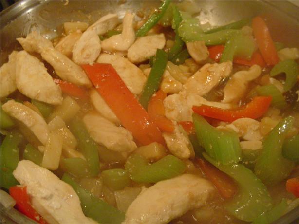 Sweet and Sour Skillet Chicken