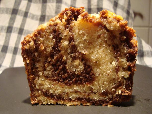 Vanilla Marbled Pound Cake