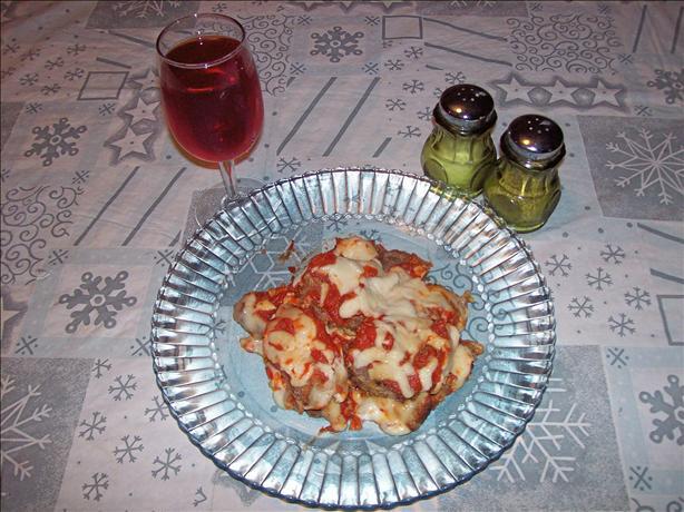 Venison Parmesan