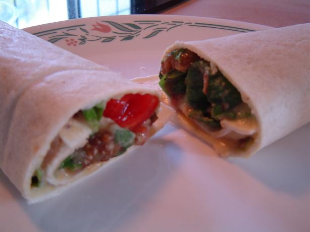 King Tut's Vegetable Wrap