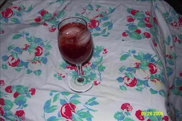 Honey Raspberry Iced Tea