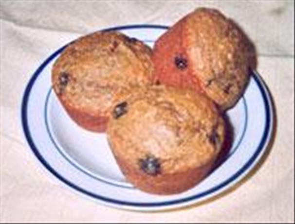 Blueberry (or Raisin) Bran Muffins