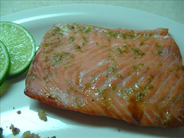 Honey 'n' Lime Glazed Salmon