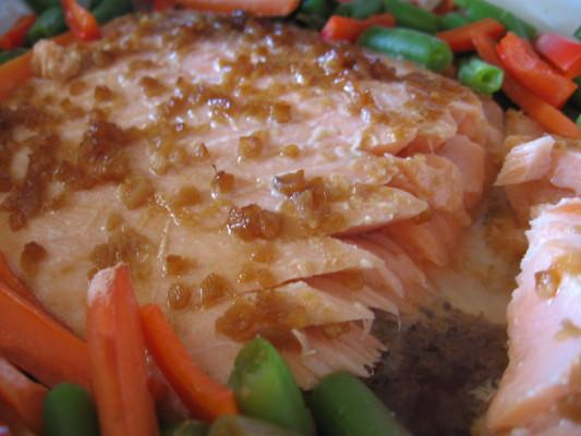 Ginger & Garlic Salmon