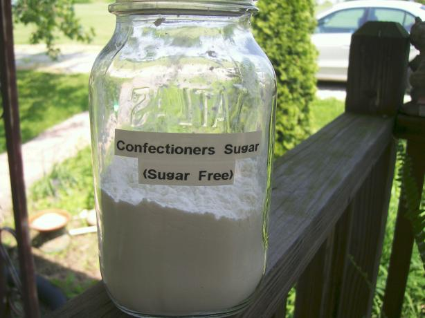 Confectioners Sugar Replacement for Diabetics (Sugar Free)