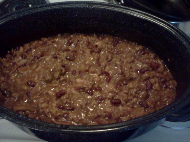 Mom's Chuckwagon Beans