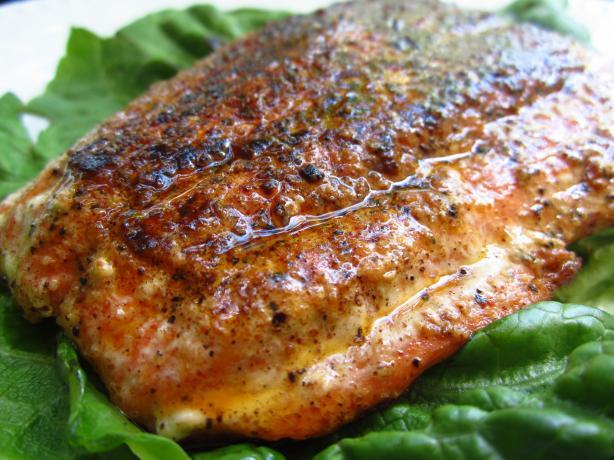 Slammin Blackened Salmon