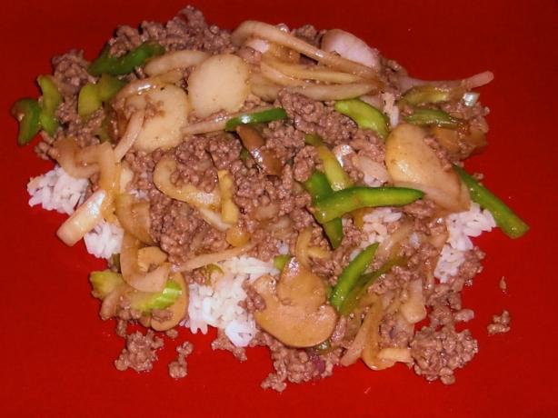 Ground Beef Sukiyaki