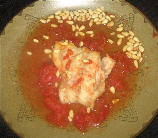 Zesty Tomato-Garlic Fish