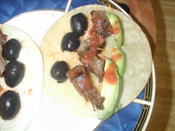 Tacos a la Ninfa