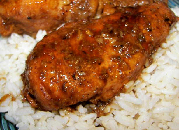 Caramelized Lemongrass Chicken Thighs