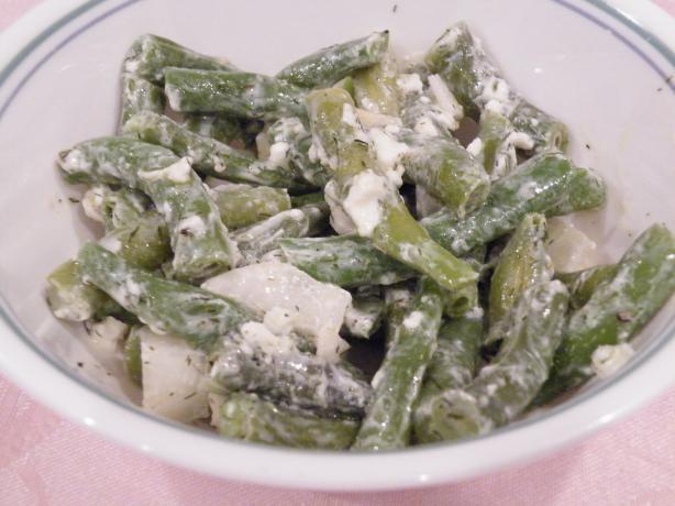 Green Bean & Feta Salad