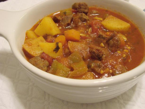 Somali Stew - Maraq (pronounced MAH-ruhk)