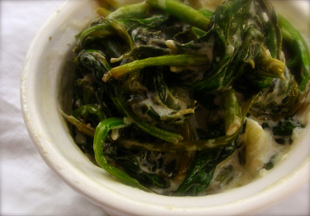 Easiest Creamed Spinach