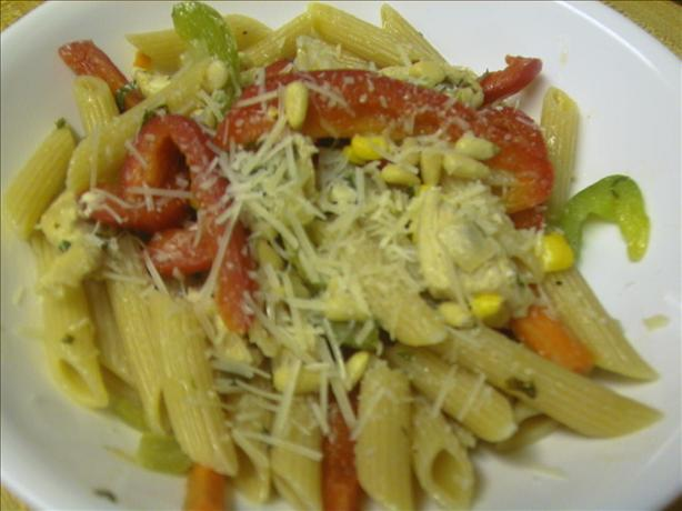 Chicken Garden Vegetable Penne