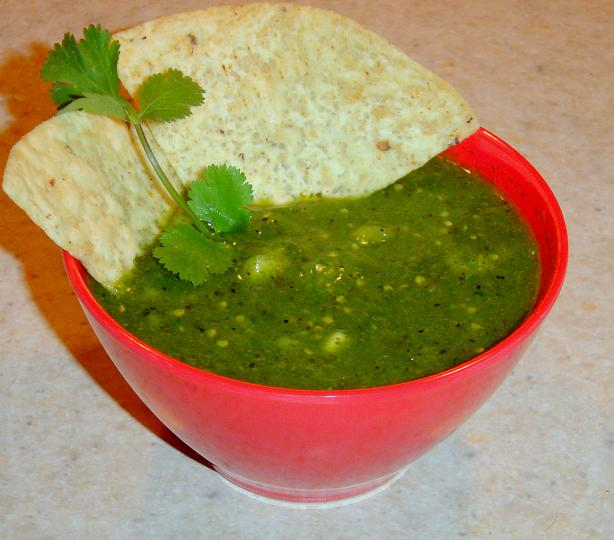 Green Tomatillo Salsa