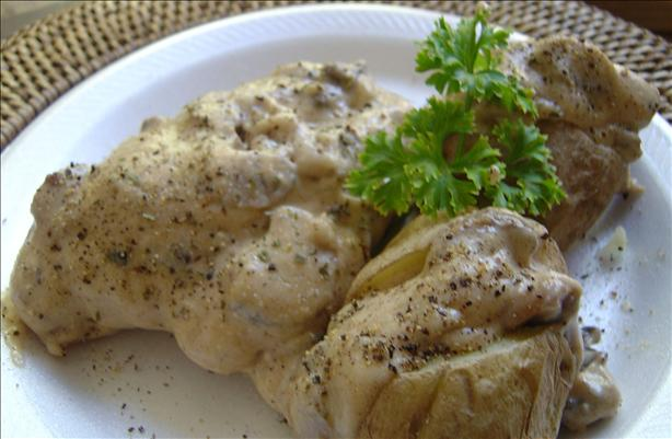 Chicken in Sour Cream