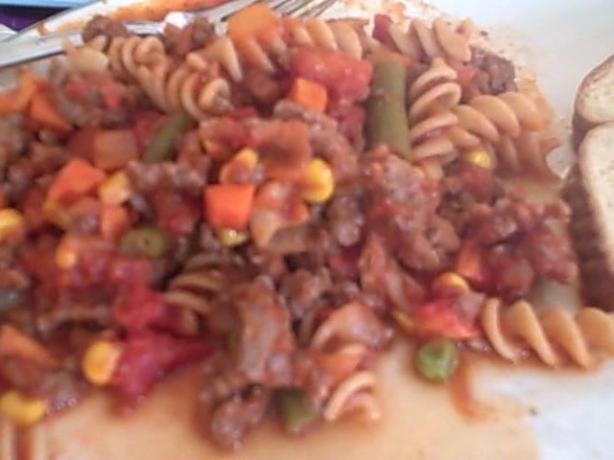 Linda's American Chop Suey