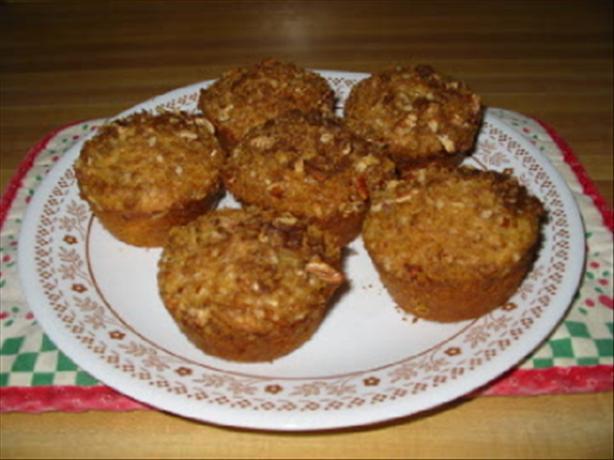 Crunchy Rhubarb Muffins